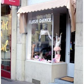 Flash dance à Lausanne - magasin de danse